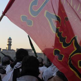 سوگواره دوم-عکس 27-سید صالح پورمعروفی-پیاده روی اربعین از نجف تا کربلا