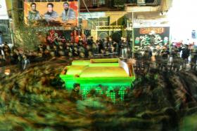 سوگواره چهارم-عکس 4-محمد رضا کاظمی-آیین های عزاداری
