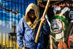 سوگواره دوم-عکس 9-رضا فرزانه-پیاده روی اربعین از نجف تا کربلا