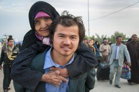 سوگواره سوم-عکس 13-بهزاد بهروزنیا-پیاده روی اربعین از نجف تا کربلا