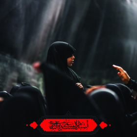 سوگواره پنجم-پوستر 25-محمدرضا ایزدی-پوستر عاشورایی