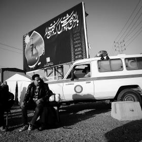 سوگواره سوم-عکس 62-حسین استوار -پیاده روی اربعین از نجف تا کربلا