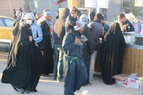 سوگواره پنجم-عکس 4-سعید معارف وند -پیاده روی اربعین از نجف تا کربلا