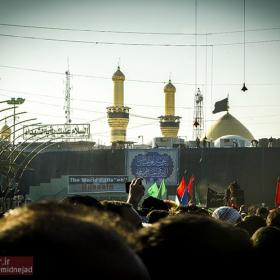 سوگواره سوم-عکس 40-امیر امیدنژاد-پیاده روی اربعین از نجف تا کربلا