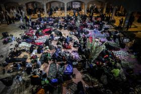 سوگواره پنجم-عکس 29-سید محمود حسینی-پیاده روی اربعین از نجف تا کربلا