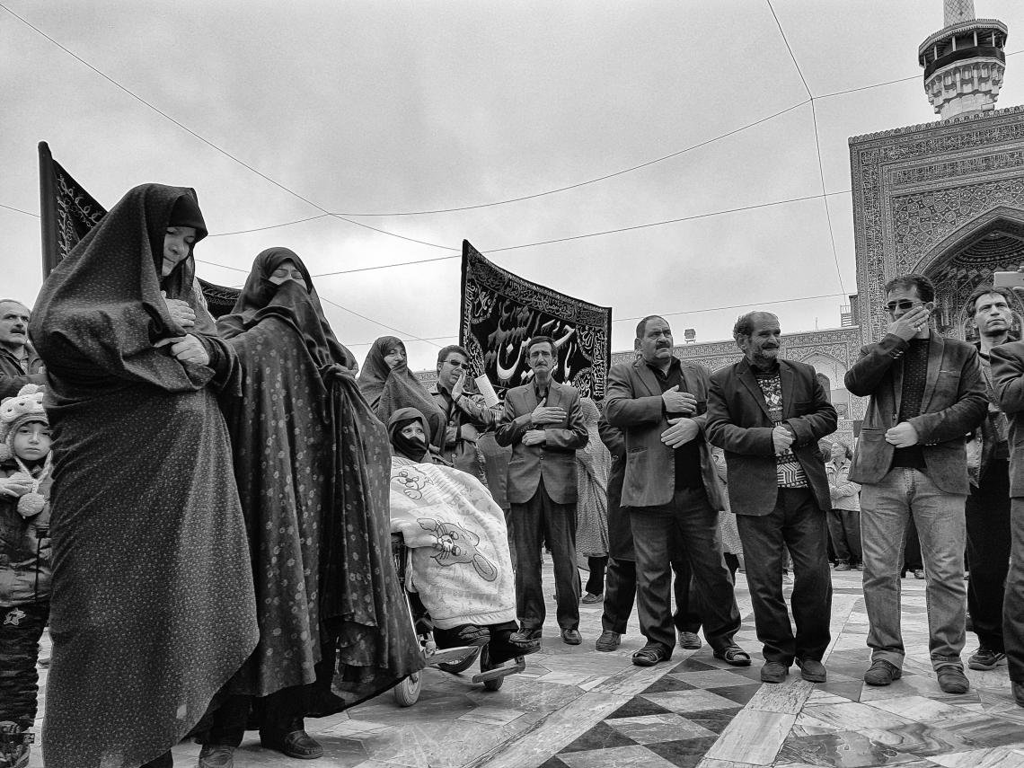 سوگواره پنجم-عکس 29-معصومه  فریبرزی-جلسه هیأت