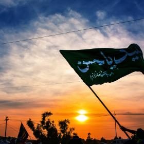 سوگواره پنجم-عکس 2-مرتضی شادور-پیاده روی اربعین از نجف تا کربلا