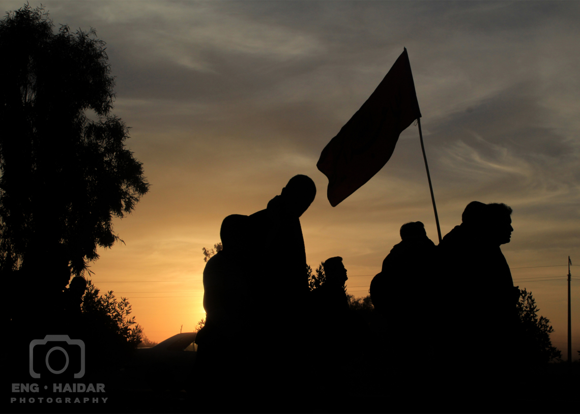 سوگواره سوم-عکس 17-حمید اسماعیل زاده-پیاده روی اربعین از نجف تا کربلا