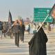 سوگواره چهارم-عکس 19-سید محمد جواد صدری-پیاده روی اربعین از نجف تا کربلا