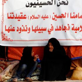 سوگواره سوم-عکس 9-امير رضا فخري-پیاده روی اربعین از نجف تا کربلا
