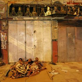 سوگواره سوم-عکس 66-حسین استوار -پیاده روی اربعین از نجف تا کربلا
