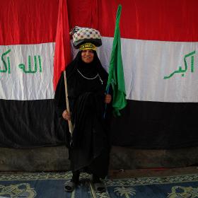 سوگواره سوم-عکس 107-حسین استوار -پیاده روی اربعین از نجف تا کربلا