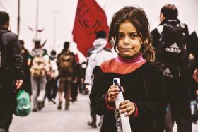 سوگواره پنجم-عکس 5-مرتضی شادور-پیاده روی اربعین از نجف تا کربلا