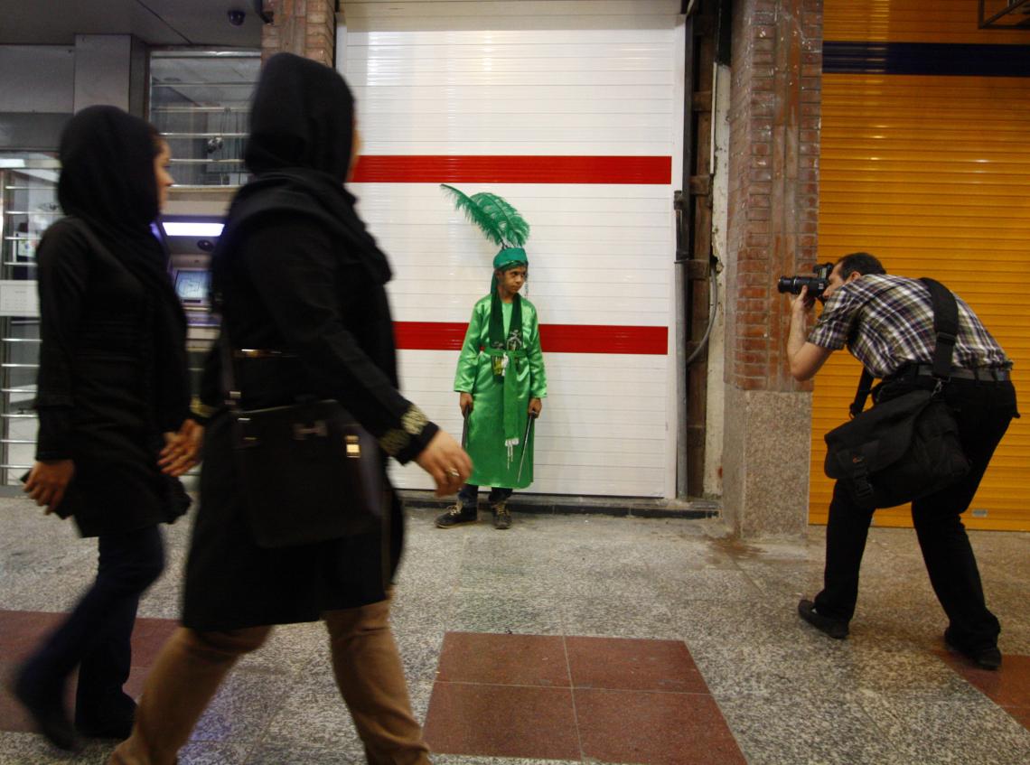 سوگواره سوم-عکس 7-محمد جهانگیری شیخ شبانی-آیین های عزاداری
