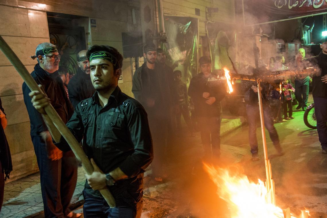 سوگواره چهارم-عکس 1-حسین امیری-آیین های عزاداری