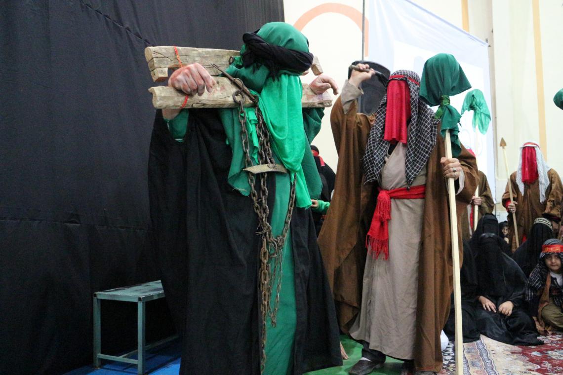 سوگواره سوم-عکس 65-محمد جواد نیکوفرد-آیین های عزاداری