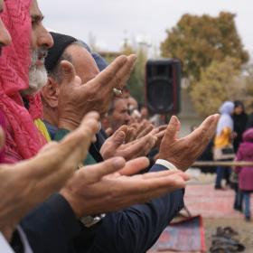 سوگواره سوم-عکس 7-محمد رهنما فلاورجانی-جلسه هیأت فضای بیرونی