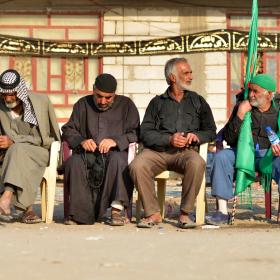 سوگواره چهارم-عکس 15-سید محمد جواد صدری-پیاده روی اربعین از نجف تا کربلا
