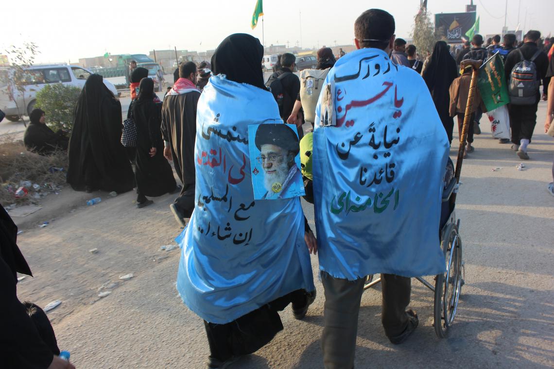 سوگواره سوم-عکس 8-امیر ورزدار-پیاده روی اربعین از نجف تا کربلا