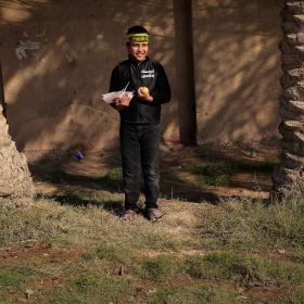 سوگواره سوم-عکس 114-حسین استوار -پیاده روی اربعین از نجف تا کربلا