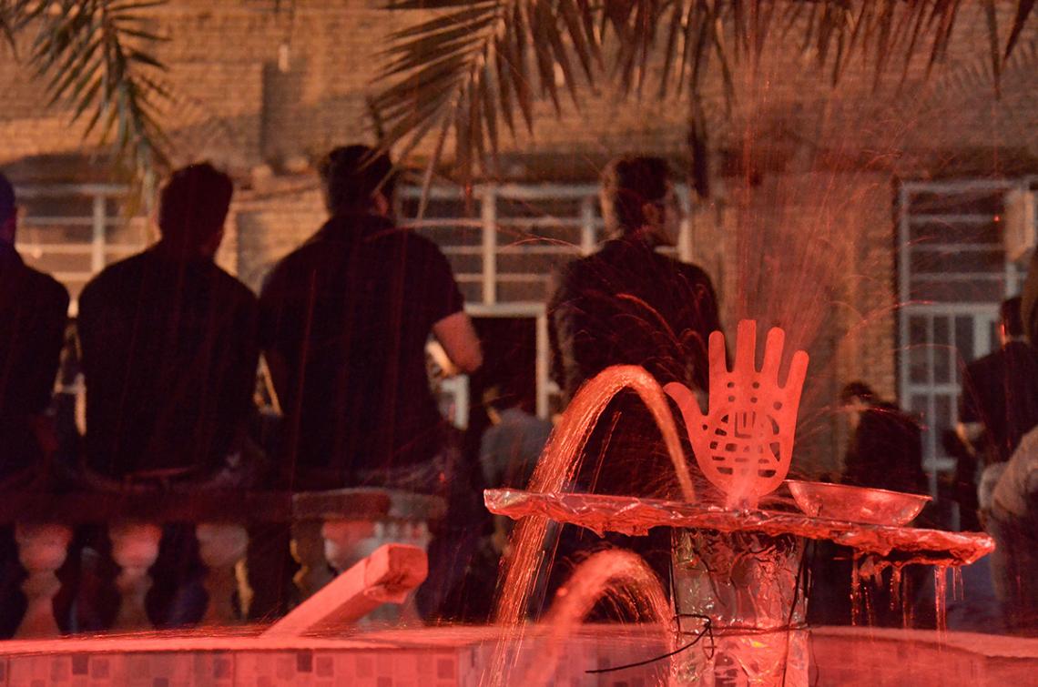 سوگواره سوم-عکس 79-محمدامین غفاری-جلسه هیأت فضای بیرونی