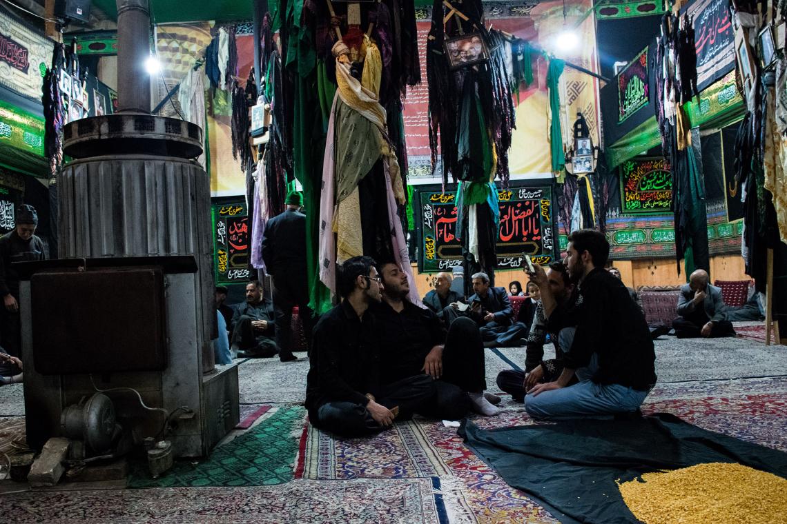سوگواره پنجم-عکس 23-سید علیرضا رجایی شوشتری-جلسه هیأت