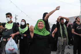 سوگواره پنجم-عکس 25-مسعود ماکاوند-پیاده روی اربعین از نجف تا کربلا