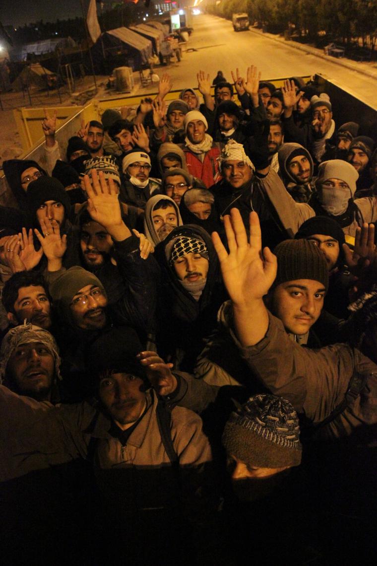 سوگواره چهارم-عکس 15-علی هاشمی-پیاده روی اربعین از نجف تا کربلا