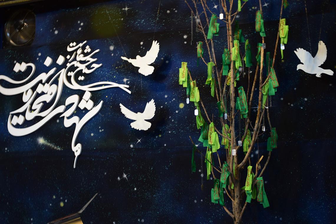 سوگواره پنجم-پوستر 1-سیدمحمد کاظمی-دکور هیأت