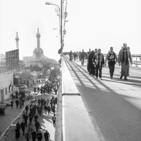 سوگواره چهارم-عکس 33-امیر عنایتی-پیاده روی اربعین از نجف تا کربلا