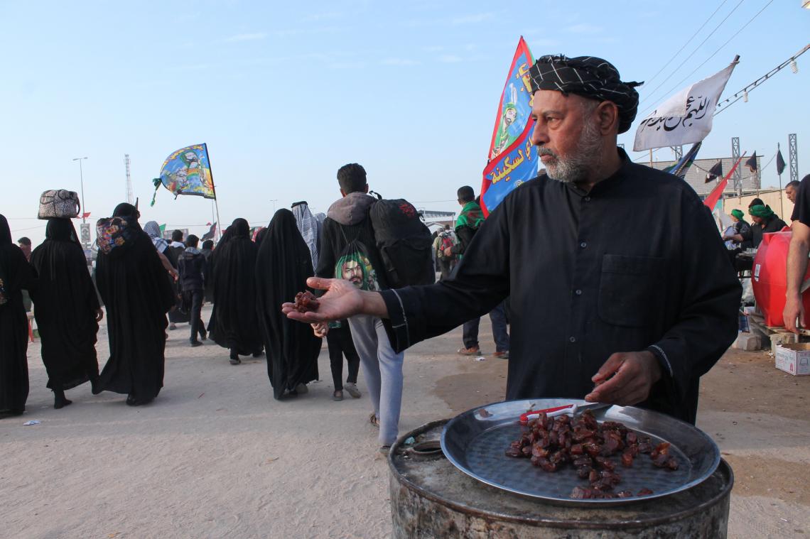 سوگواره پنجم-عکس 15-فاطمه سادات رضوی نیا-پیاده روی اربعین از نجف تا کربلا