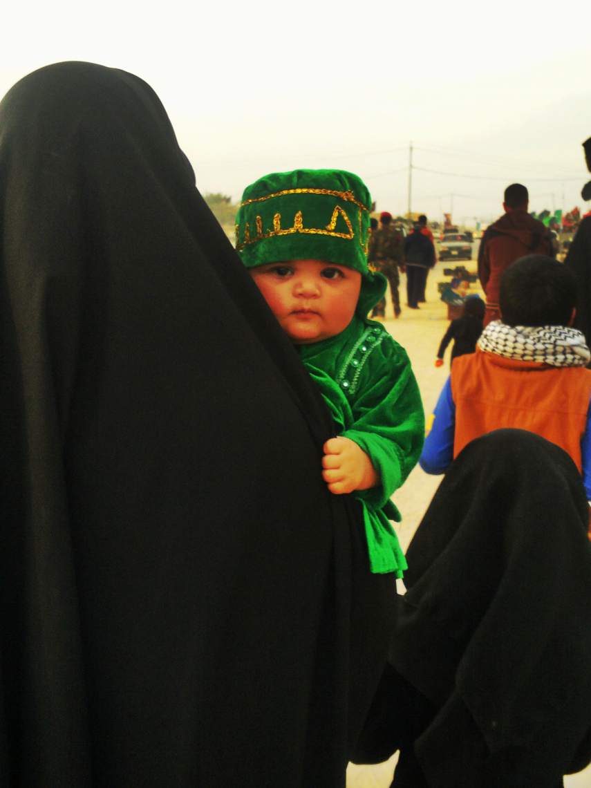 سوگواره سوم-عکس 11-علیرضا رحمانی پور-پیاده روی اربعین از نجف تا کربلا