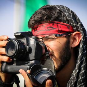 سوگواره چهارم-عکس 47-محمد رضا میثمی-پیاده روی اربعین از نجف تا کربلا