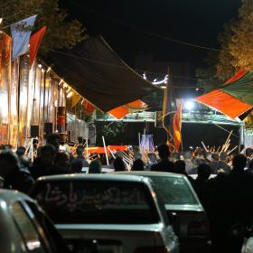 سوگواره پنجم-عکس 15-ابوالفضل  محرمی-جلسه هیأت فضای بیرونی
