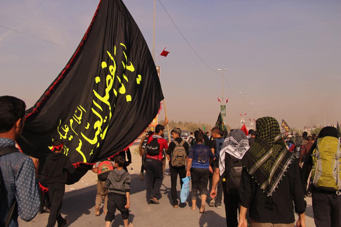 سوگواره پنجم-عکس 27-Hamed Eftekhari-پیاده روی اربعین از نجف تا کربلا