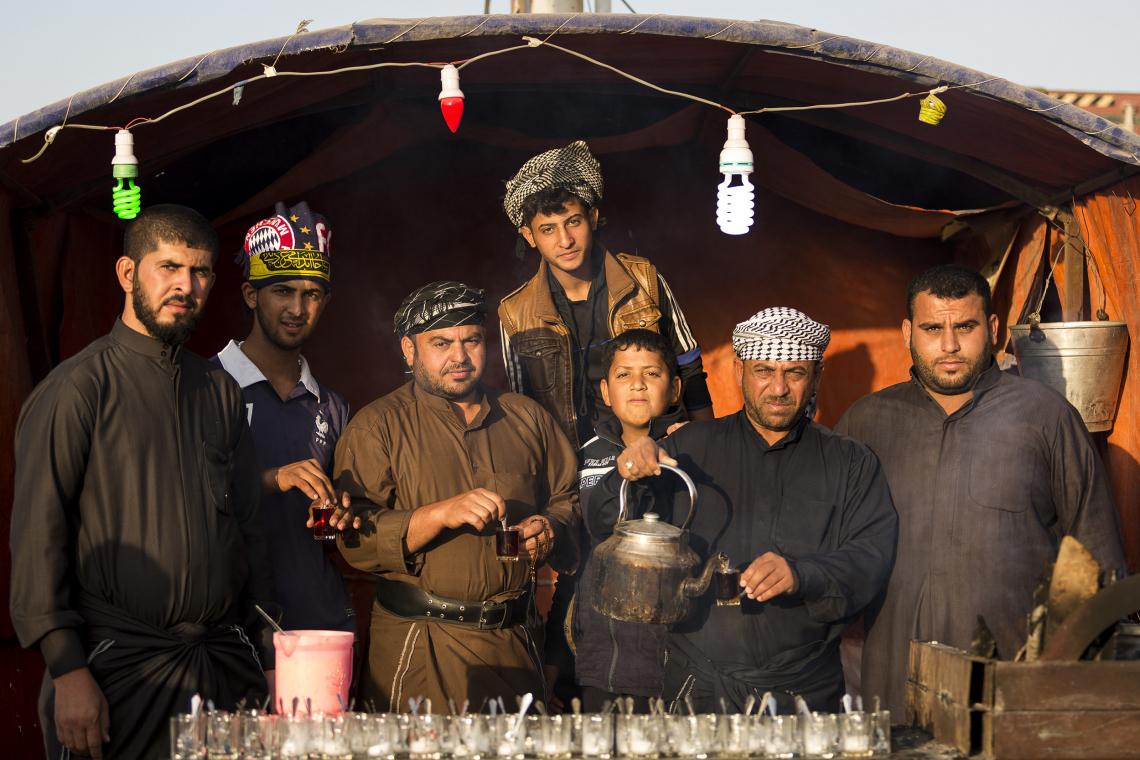 سوگواره پنجم-عکس 24-علی تیموری-پیاده روی اربعین از نجف تا کربلا