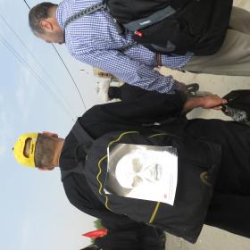 سوگواره سوم-عکس 14-محمد ابراهیمی-پیاده روی اربعین از نجف تا کربلا