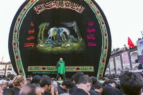 نهمین سوگواره عاشورایی عکس هیأت-داود ايزدپناه-مجالس احیای امر اهلالبیت علیهمالسلام