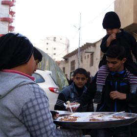 سوگواره دوم-عکس 58-محسن مرادی-پیاده روی اربعین از نجف تا کربلا