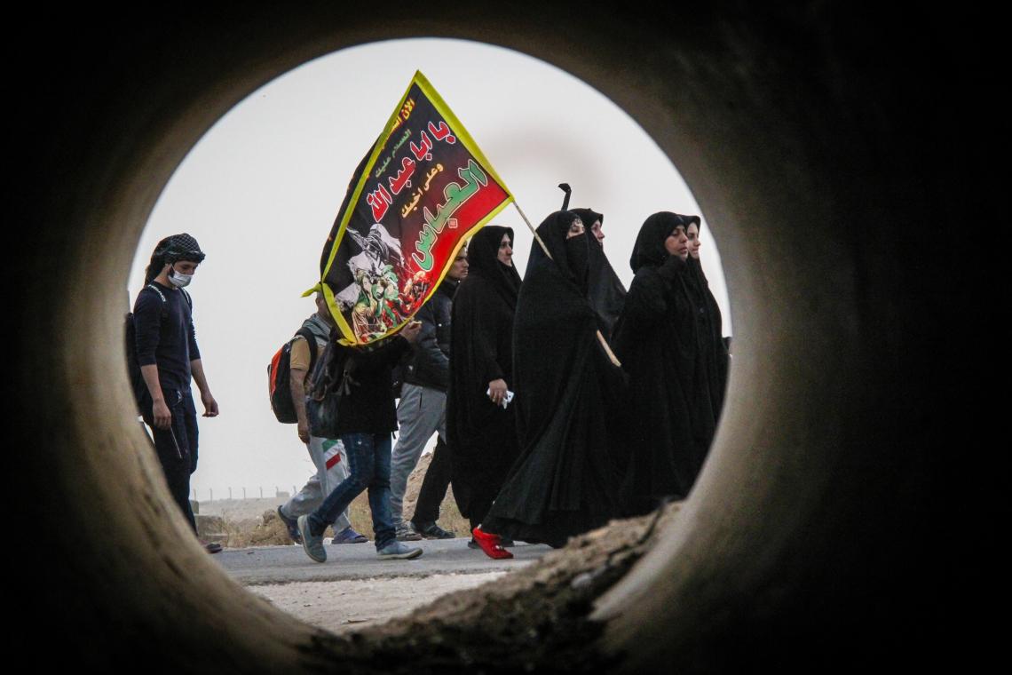 سوگواره پنجم-عکس 3-محمدرسول ظهیری-پیاده روی اربعین از نجف تا کربلا