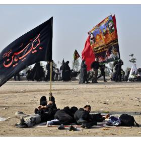 سوگواره چهارم-عکس 31-حمید رضا حبیبی محب سراج-پیاده روی اربعین از نجف تا کربلا