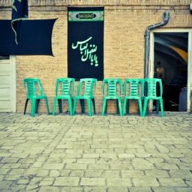 دومین سوگواره عاشورایی عکس هیأت-امیر حسین علیداقی-بخش اصلی -جلسه هیأت-فضای بیرونی جلسه هیأت