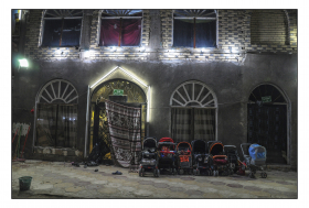 سوگواره پنجم-عکس 4-عمار رحمانی-پیاده روی اربعین از نجف تا کربلا