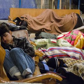 سوگواره سوم-عکس 69-محمدامین غفاری-پیاده روی اربعین از نجف تا کربلا
