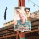 سوگواره سوم-عکس 76-سیده هاله حیدری-پیاده روی اربعین از نجف تا کربلا