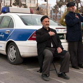 سوگواره سوم-عکس 13-محمود بازدار-جلسه هیأت فضای بیرونی