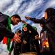 سوگواره پنجم-عکس 97-امیر قیومی-پیاده روی اربعین از نجف تا کربلا