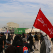 سوگواره چهارم-عکس 7-مرتضی طاهری امیری-پیاده روی اربعین از نجف تا کربلا