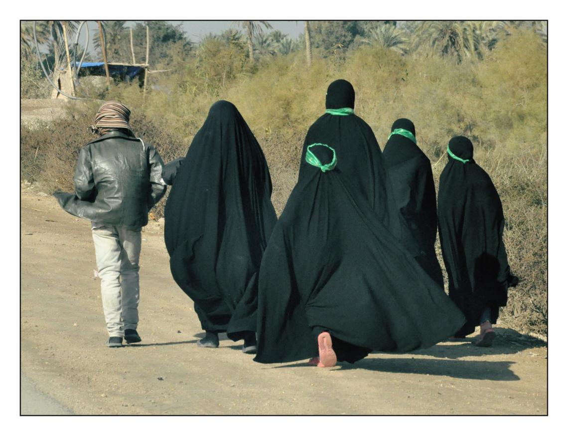 سوگواره دوم-عکس 13-حمید رضا حبیبی محب سراج-پیاده روی اربعین از نجف تا کربلا