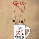 سوگواره دوم-پوستر 2-کورش(عباس) شریف-پوستر عاشورایی